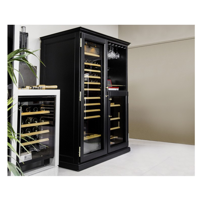 elite une gamme de meubles pour cave vin eurocave. Black Bedroom Furniture Sets. Home Design Ideas