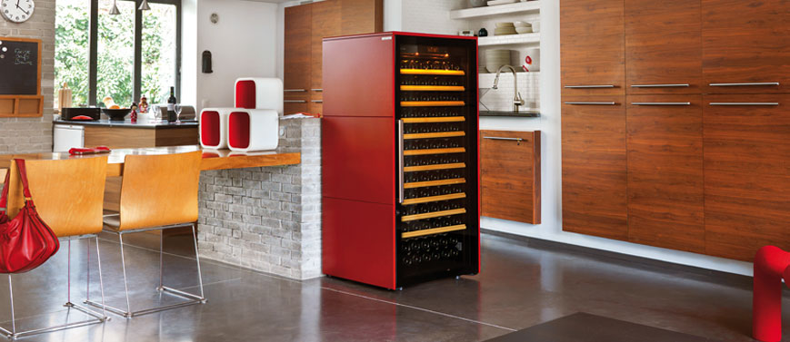Collection EuroCave wine cabinet