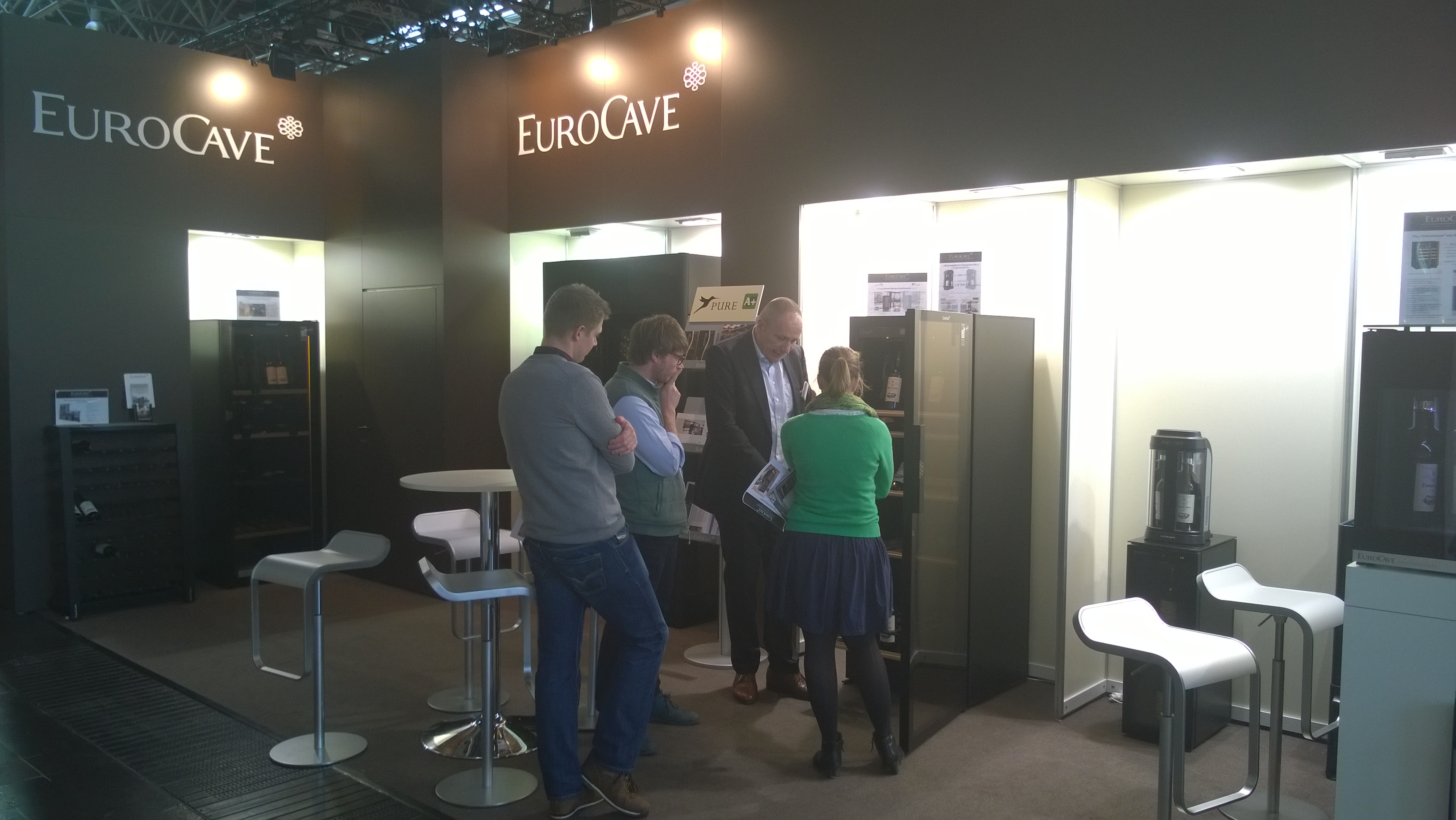 EuroCave Wine Cabinet Prowein 2017