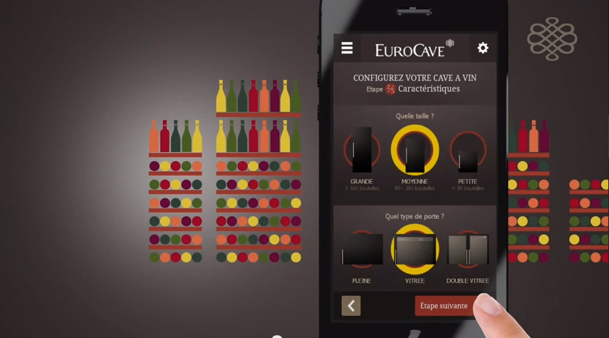 Application iphone et android de cave vin d 39 eurocave - Application cave a vin gratuite ...