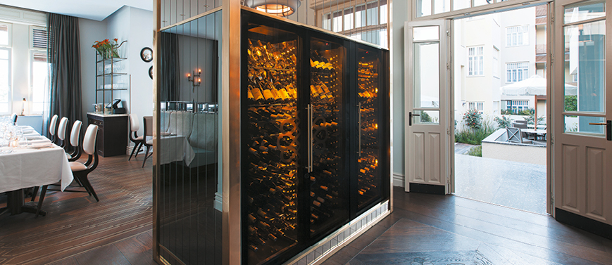 Wine cabinet 9000 series - ShowCave - Norman hotel - Israel