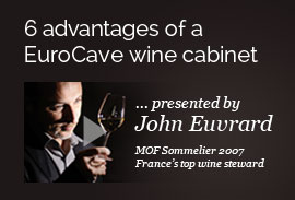 6 advantages of a EuroCave wine cabinet by John Euvrard in video