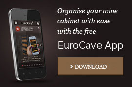 EuroCave app to organise your wine cabinet
