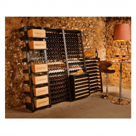 rangement pour cave vin range bouteille de vin casier. Black Bedroom Furniture Sets. Home Design Ideas