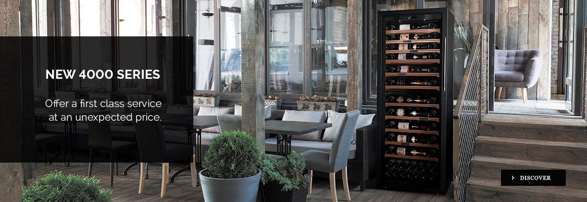 4000 professional wine cabinets. Restaurants, hotels, wine bars, wine shops equipment. Make the difference. Turn your wine list into a real asset.