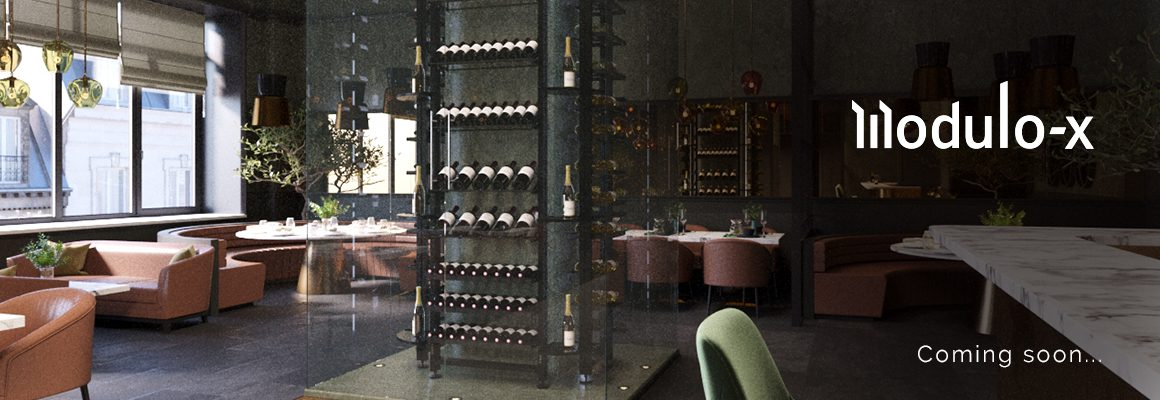 Professional wine cellar layout, wine display cabinet, wine wall. Highlight your wine list, attract the interest of your guests and ensure better stock rotation.